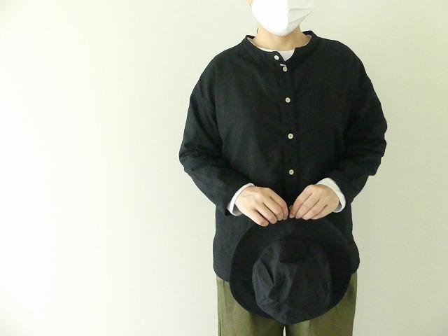 ビエラピッチワッシャースタンドカラーワイドシャツの商品画像3