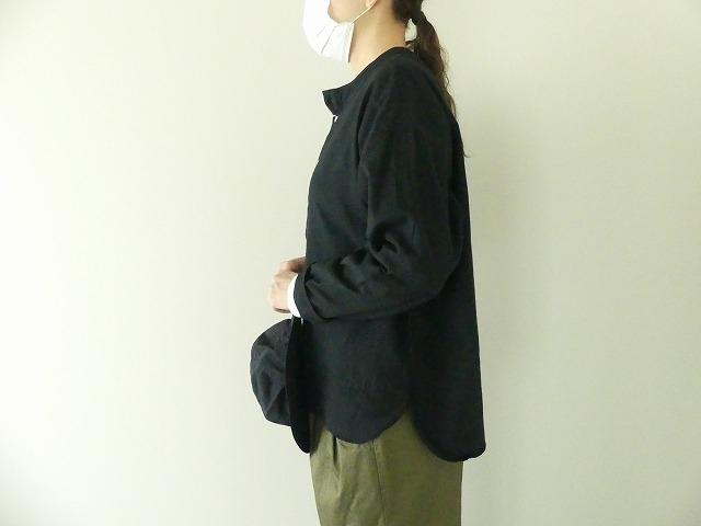 ビエラピッチワッシャースタンドカラーワイドシャツの商品画像5