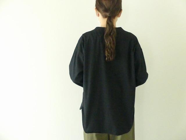 ビエラピッチワッシャースタンドカラーワイドシャツの商品画像6