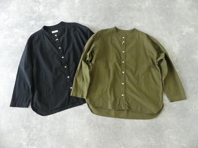 ビエラピッチワッシャースタンドカラーワイドシャツの商品画像7