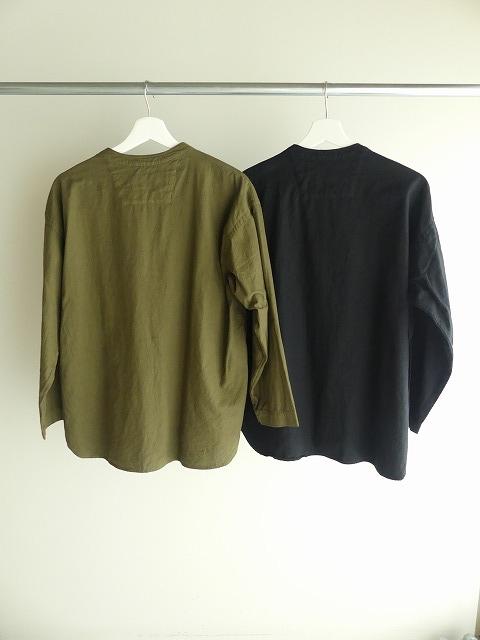 ビエラピッチワッシャースタンドカラーワイドシャツの商品画像8