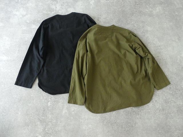 ビエラピッチワッシャースタンドカラーワイドシャツの商品画像9