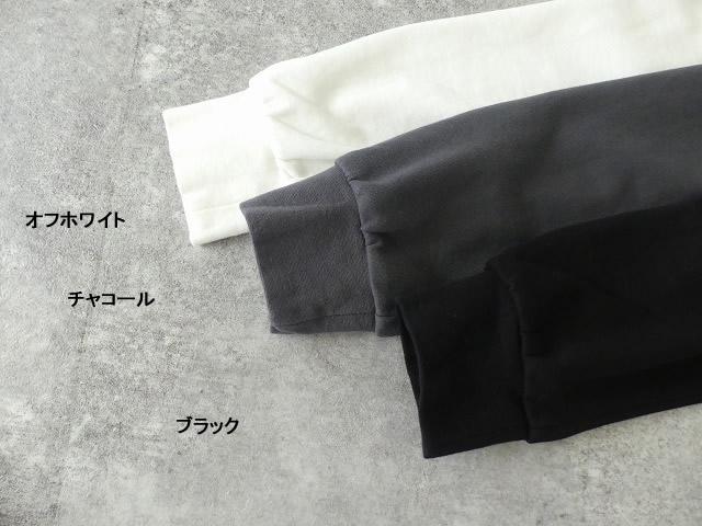 コンパクトミニ裏毛サイドスリットボトルネックプルオーバーの商品画像10
