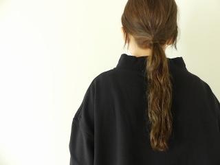 コンパクトミニ裏毛サイドスリットボトルネックプルオーバーの商品画像15