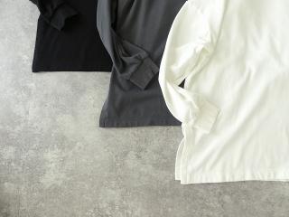 コンパクトミニ裏毛サイドスリットボトルネックプルオーバーの商品画像19