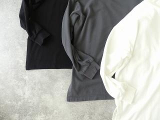 コンパクトミニ裏毛サイドスリットボトルネックプルオーバーの商品画像21