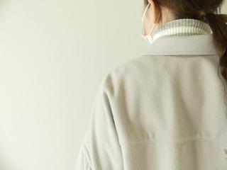 ウールカシミヤビーバーミリタリーシャツの商品画像15