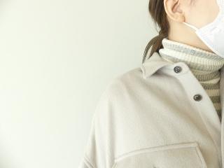ウールカシミヤビーバーミリタリーシャツの商品画像16