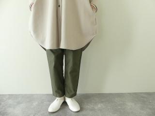 ウールカシミヤビーバーミリタリーシャツの商品画像18