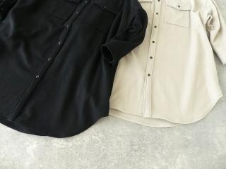 ウールカシミヤビーバーミリタリーシャツの商品画像21