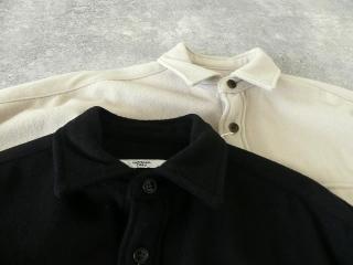 ウールカシミヤビーバーミリタリーシャツの商品画像22