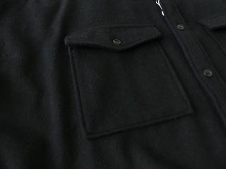 ウールカシミヤビーバーミリタリーシャツの商品画像25