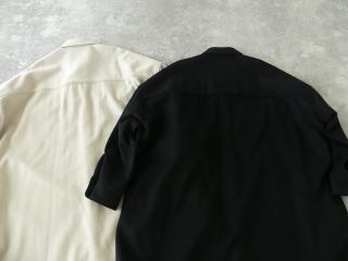 ウールカシミヤビーバーミリタリーシャツの商品画像30