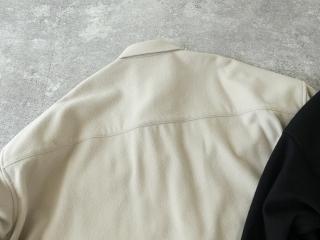 ウールカシミヤビーバーミリタリーシャツの商品画像31