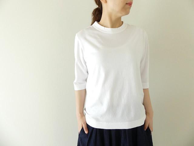 天竺6分袖Tシャツ (1)サラシ