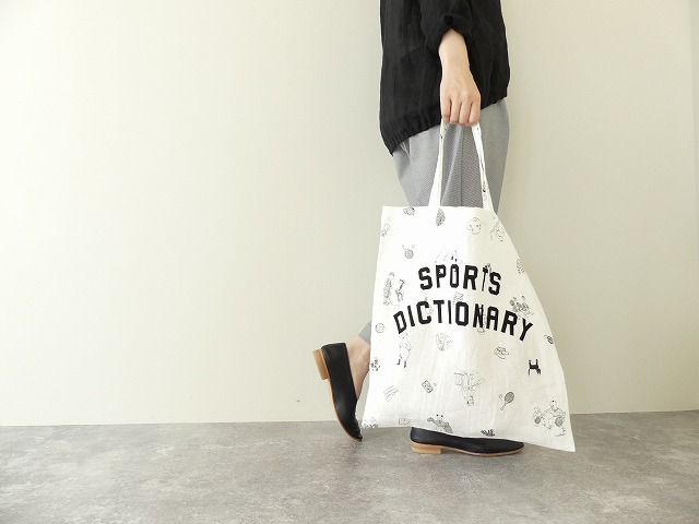 BRITISH SPORTS PRINT TOTE BAG