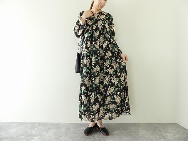 リバティワンピースドレス