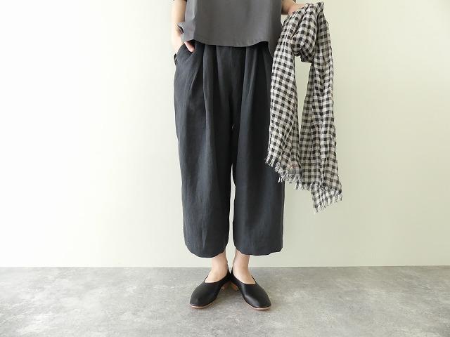 linen tuck pants リネンタックパンツ