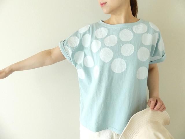 ドライコットンリンゴDot Tシャツ