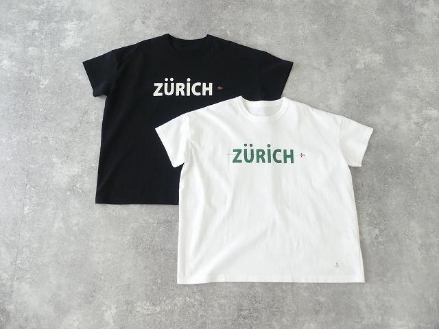 20周年記念リバイバルロゴ BIG-Tシャツ B柄チューリッヒ行きバゲッジタグ