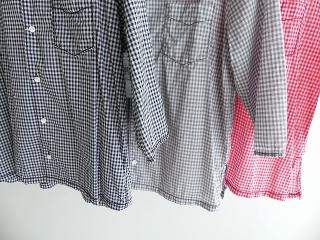 ギンガム7分袖シャツの商品画像10