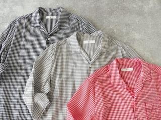 ギンガム7分袖シャツの商品画像11