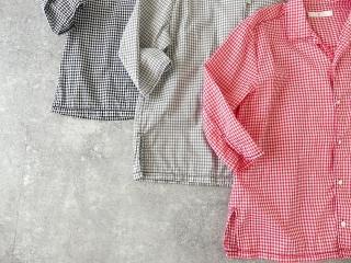 ギンガム7分袖シャツの商品画像13