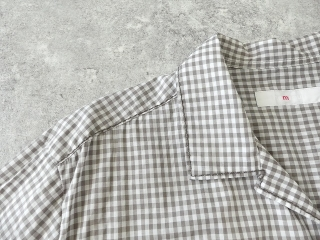 ギンガム7分袖シャツの商品画像17