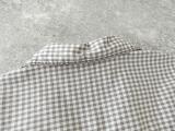 ギンガム7分袖シャツの商品画像23
