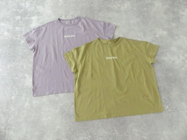 Girls 海上がりBIG Tシャツ「Ukulele」の商品画像10