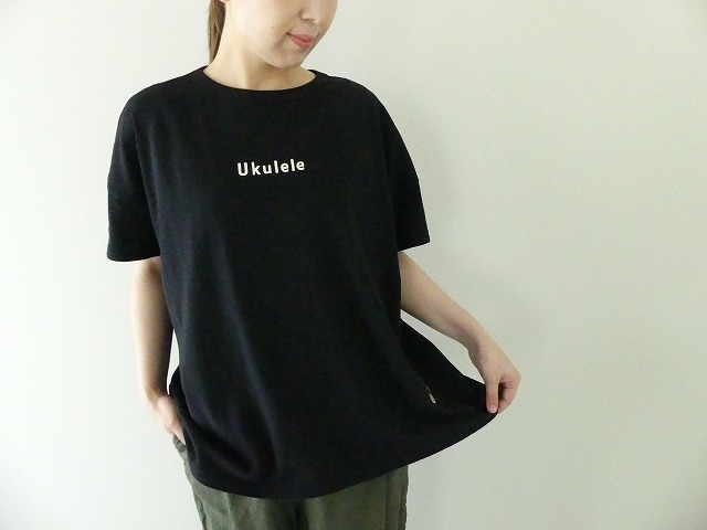 Girls 海上がりBIG Tシャツ「Ukulele」の商品画像2