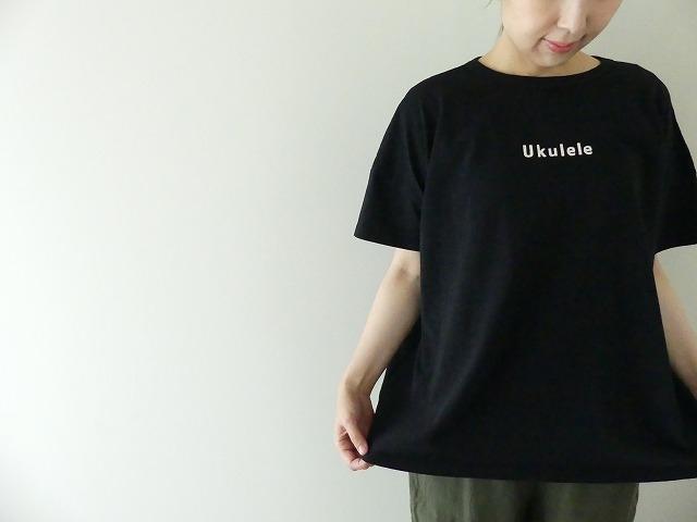 Girls 海上がりBIG Tシャツ「Ukulele」の商品画像6