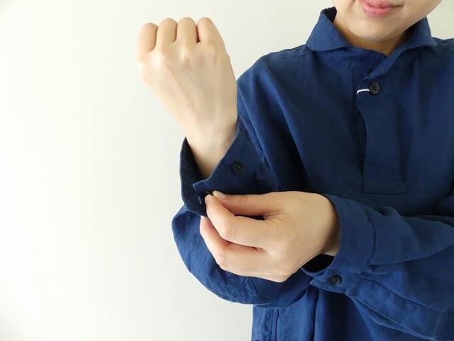 定番プルオーバー型リネンビッグシャツの商品画像10