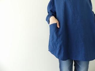 定番プルオーバー型リネンビッグシャツの商品画像14