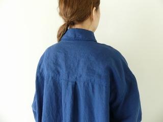 定番プルオーバー型リネンビッグシャツの商品画像18