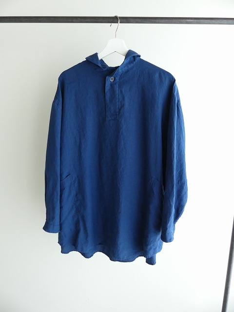 定番プルオーバー型リネンビッグシャツの商品画像2