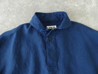 定番プルオーバー型リネンビッグシャツの商品画像20