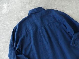 定番プルオーバー型リネンビッグシャツの商品画像21