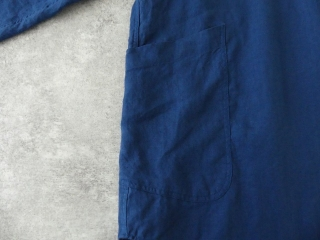 定番プルオーバー型リネンビッグシャツの商品画像24