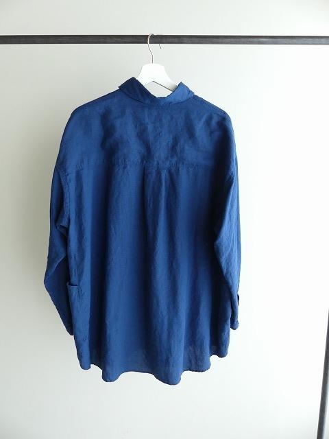 定番プルオーバー型リネンビッグシャツの商品画像7