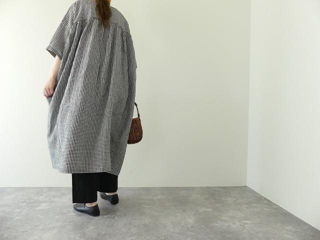 バックサイドギャザードレスの商品画像1