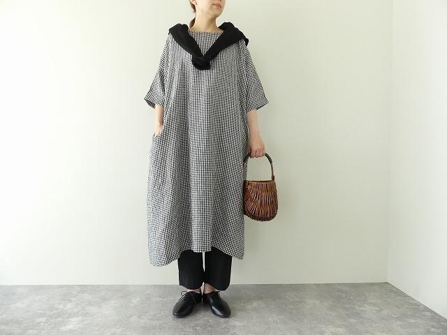 バックサイドギャザードレスの商品画像3