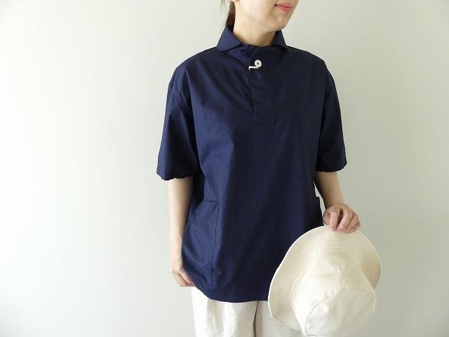 40タイプライター半袖P/Oシャツ