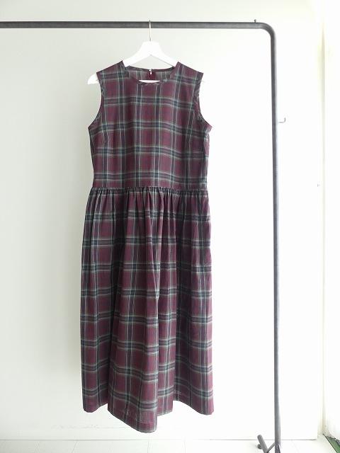 インディアンマドレスチェックドレスの商品画像2