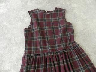 インディアンマドレスチェックドレスの商品画像21