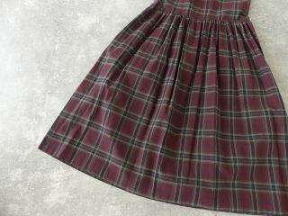 インディアンマドレスチェックドレスの商品画像30
