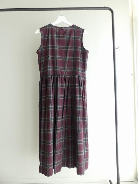 インディアンマドレスチェックドレスの商品画像8