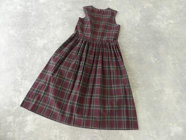 インディアンマドレスチェックドレスの商品画像9