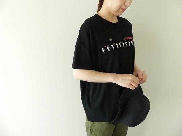 リバイバル企画スペースT Wide-Tシャツ アストロノーツの商品画像1