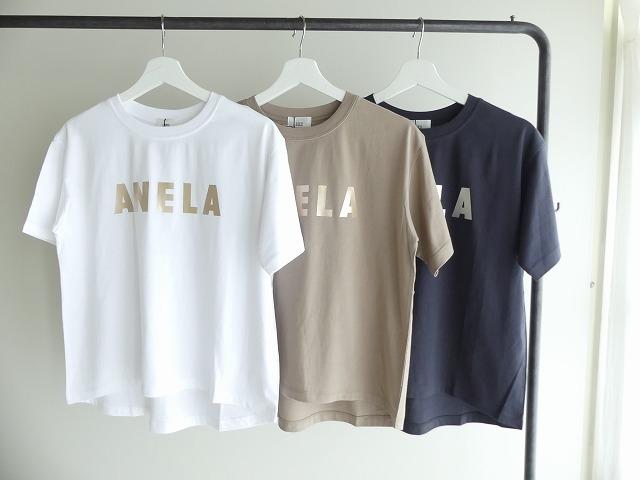 ハイゲージ天竺ロゴTシャツ ANELAの商品画像1